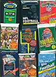 100 Vintage Football Cards in Old Sealed Wax