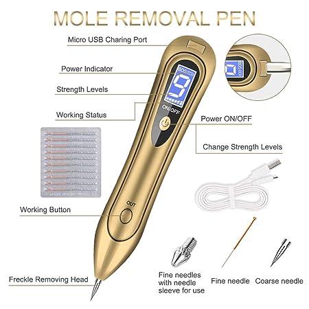 Removedor de manchas de piel, bolígrafo de eliminación de topo, 9 ...