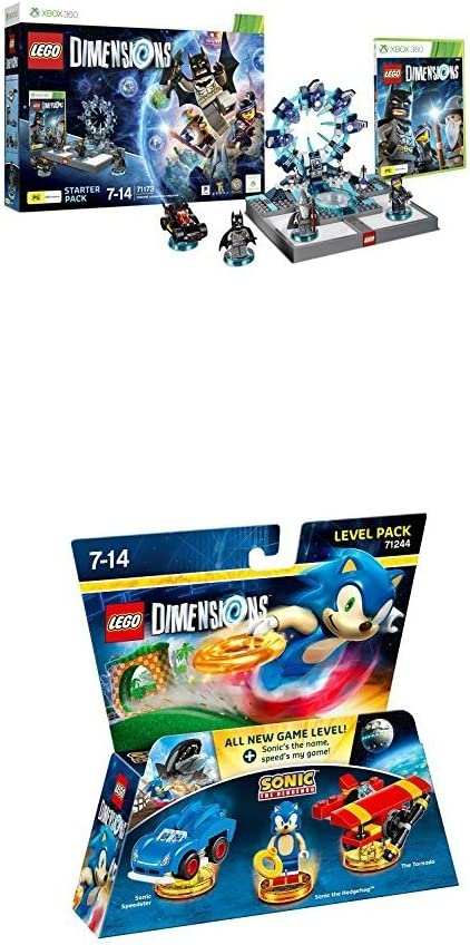 LEGO - Starter Pack Dimensions (Xbox 360) + LEGO: Sonic The Hedgehog: Amazon.es: Videojuegos