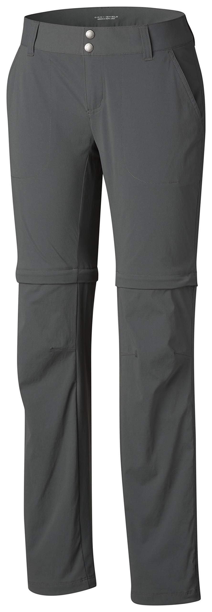 Columbia Women's Saturday Trail II Convertible Pant, Water & Stain Resistant