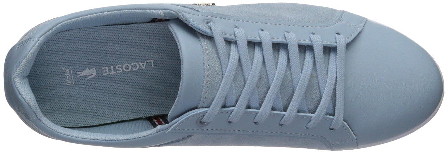 Amazon.com: Lacoste rey de encaje zapatillas de la mujer: Shoes
