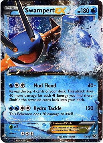 Good Single (Pokemon Swampert EX # XY55 Foil Holo Promo Card XY 55)