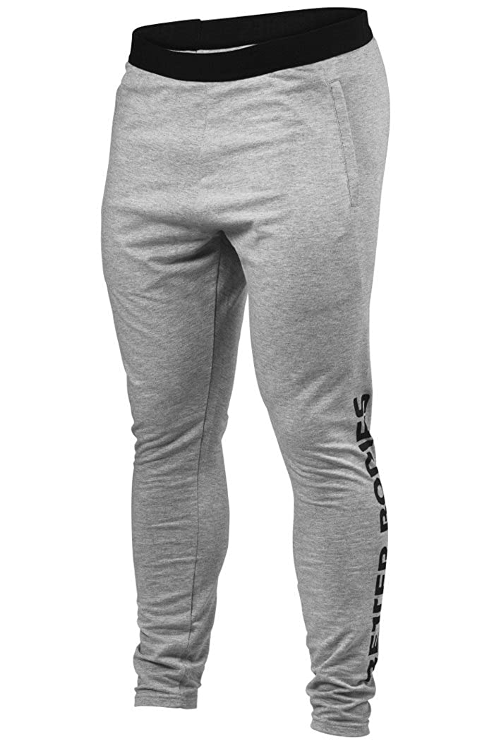 Better Bodies Hudson Jersey Pants Grau Melange