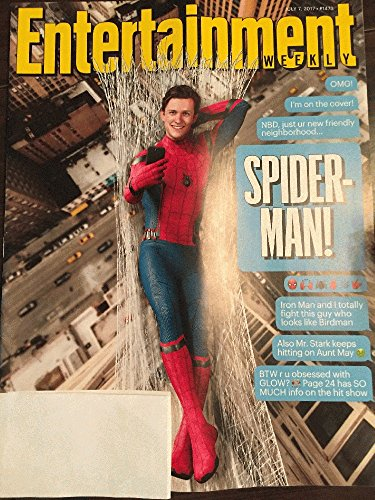 Spider Man Magazine - Entertainment Weekly Magazine (July 7, 2017) Tom Holland / Spiderman Cover