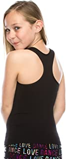 product image for Kurve Premium Girls Seamless Supersoft Wide Strap Comfortable Racerback Tank (Made with Love in the USA)