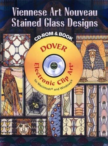 Viennese Art Nouveau Stained Glass Desig - Clipart Nouveau Shopping Results