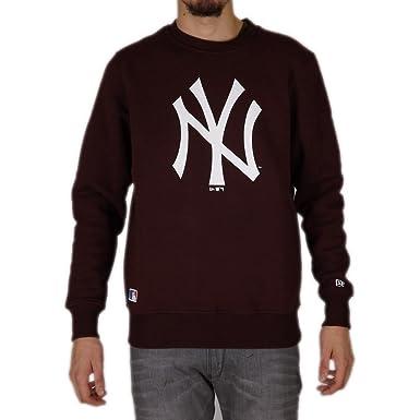 f204350c8dd6f A NEW ERA Sudadera MLB York Yankees Crew Granate Talla  XL (X-Large ...