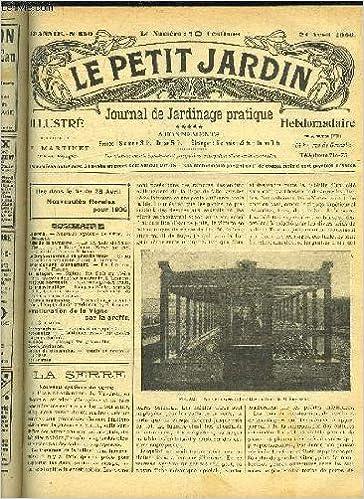 Lire LE PETIT JARDIN ILLUSTRE N 650 La Serre Nouveau Systeme ...