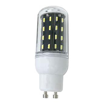 Phigoning 8X GU10 LED 5W 56 SMD 4014 Bombilla Lamparas LED del maiz Luz Bombillas AC220