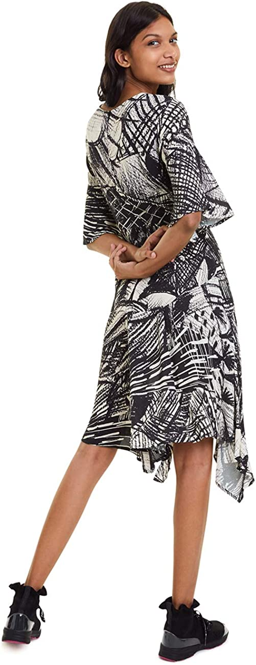 Desigual Women's Dress Marian Crudo