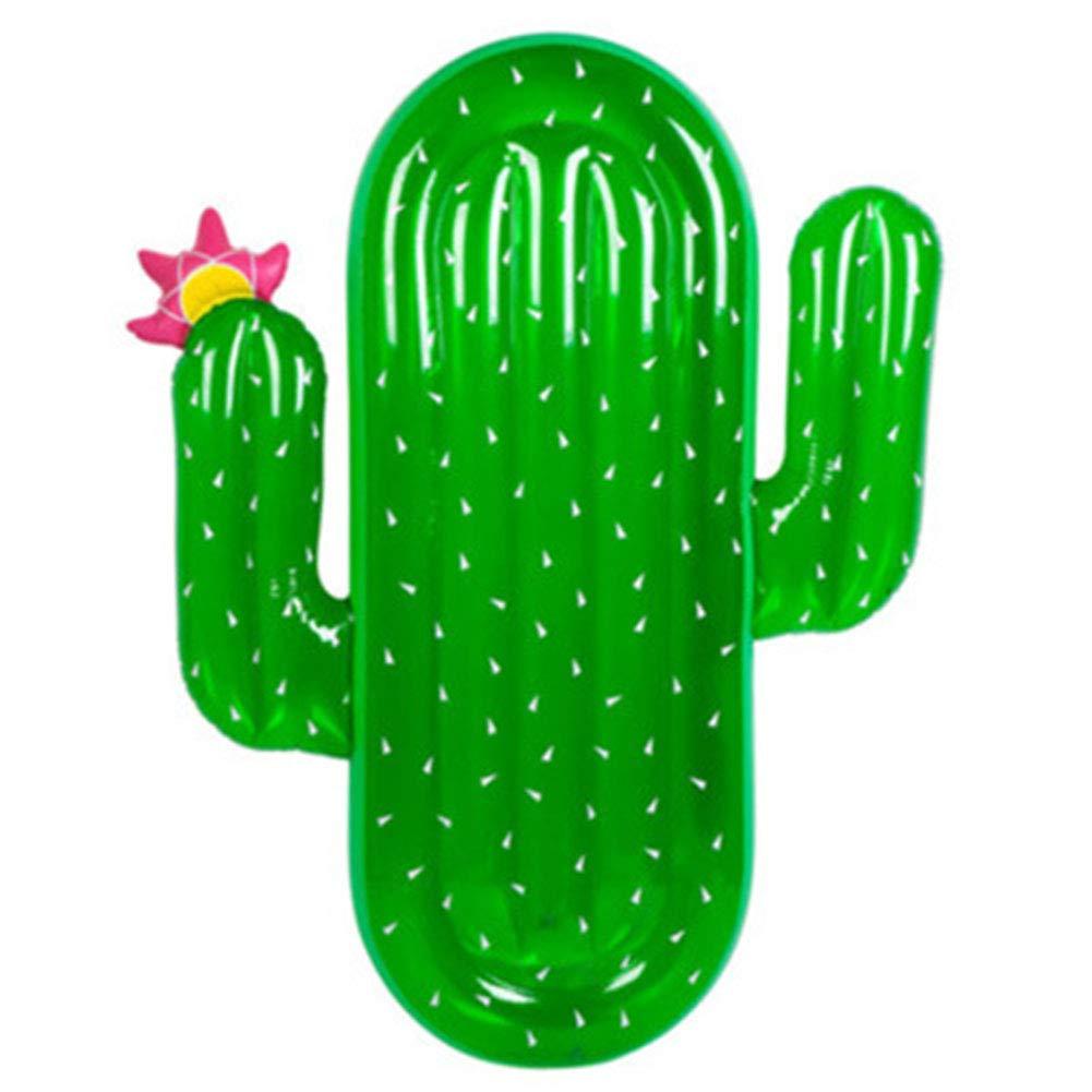 Aufblasbarer Kaktus des schwimmenden Reihenschwimmfloßes erwachsenes Wasser PVC-erwachsenes Swimmingpoolspielzeug