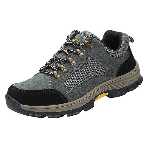OPAKY Zapatos de Seguridad para Hombre con Puntera de Acero ...