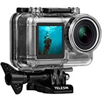 TELESIN Waterdichte beschermhoes voor DJI OSMO actiecamera, beschermhoes voor DJI OSMO actiecamera, waterdicht tot 60 m…