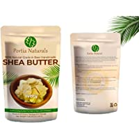Portia Naturals Raw Shea Butter - Natural Skin Care for Face, Hair and Body. Unrefined Grade A, 100% Pure, African…