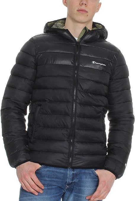 Champion Hooded Jacket Herren Outdoor Jacke Kapuzen Winterjacke 214875-KK001