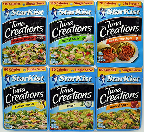 Starkist Creations Variety 2 6 Ounce Flavors product image