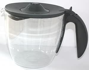 Jarra de vidrio 00647056 compatible con Bosch cafetera: Amazon.es ...