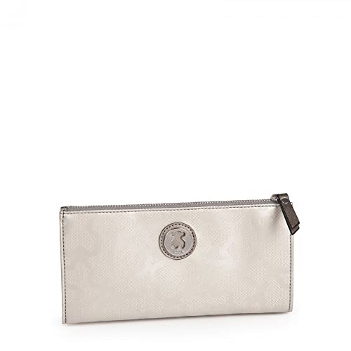 Tous - Cartera para mujer Mujer Plateado argento silver: Amazon.es: Zapatos y complementos