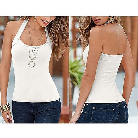 JiXuan Canottiere Donna Estive Camicie Maglietta Nero Bianco T-Shirt Crop Tank Top Canotte Maglia Gilet Veste Cime Taglie Forti