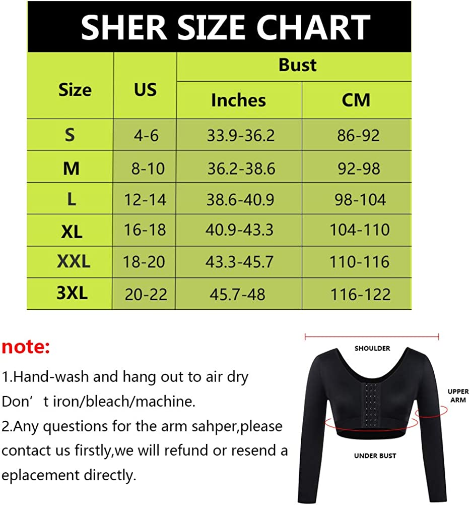 SHER Women Post Surgical Bra Front Closure Compression Bra Full Bust Bra