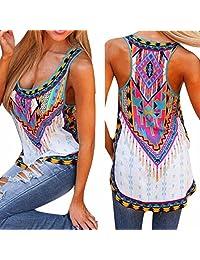 Dewapparel Women New Summer Vest Top Sleeveless Blouse Casual Tank Tops T-Shirt