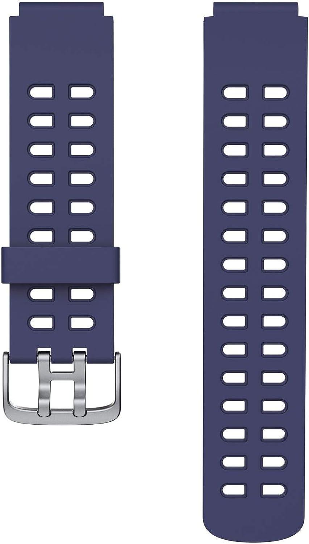 Correa de repuesto para reloj de actividad física ID205 ID205L (correa de reloj azul)