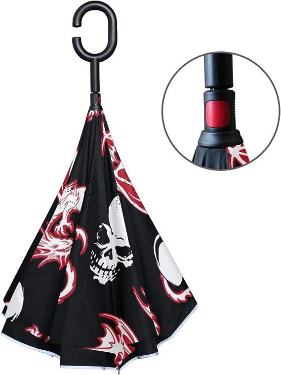 Acheter parapluie tete de mort online 7