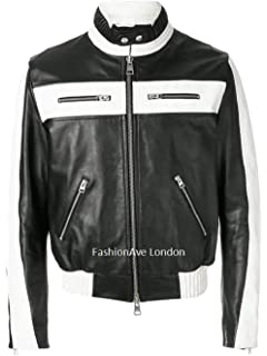 FashionAve London Mens Dean Ambrose Real and Leather Jacket