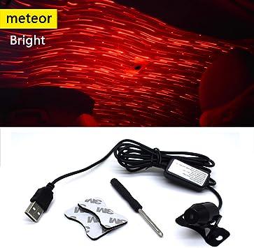 Universal Mini USB LED Car Auto Interior Light Neon Atmosphere Ambient Lamps