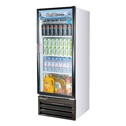Glass Door Merchandiser with Energy Conserving Fan Control Tasteful and