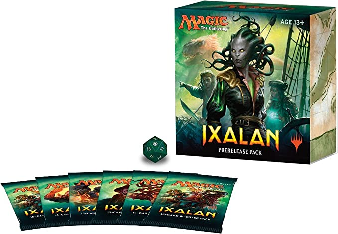 Magic The Gathering MTG Ixalan Pre-Release Pack - English: Amazon.es: Juguetes y juegos