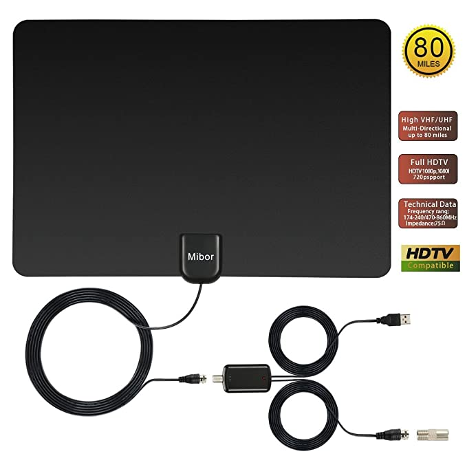Review Mibor TV Antenna, Indoor