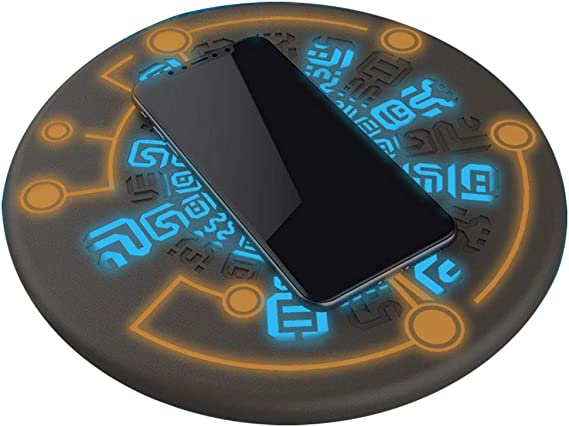 Zelda Wireless Charger Sheikah Slate Phone Charger Magic Circle Charger 10W Fast Charging by RegisBox