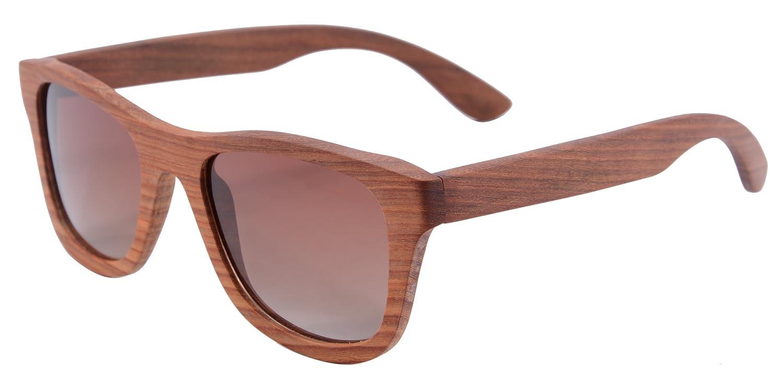 SHINU Woody Bambus Holz Polarisiert Sonnenbrille UV400 Flush Spiegel Objektiv Brille für Unisex-Z6016 Z68004 B018LS6E70 Sonnenbrillen