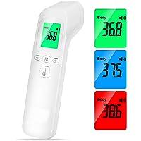 Infraröd termometer digital termometer larm hög temperatur multifunktion 4-i-1