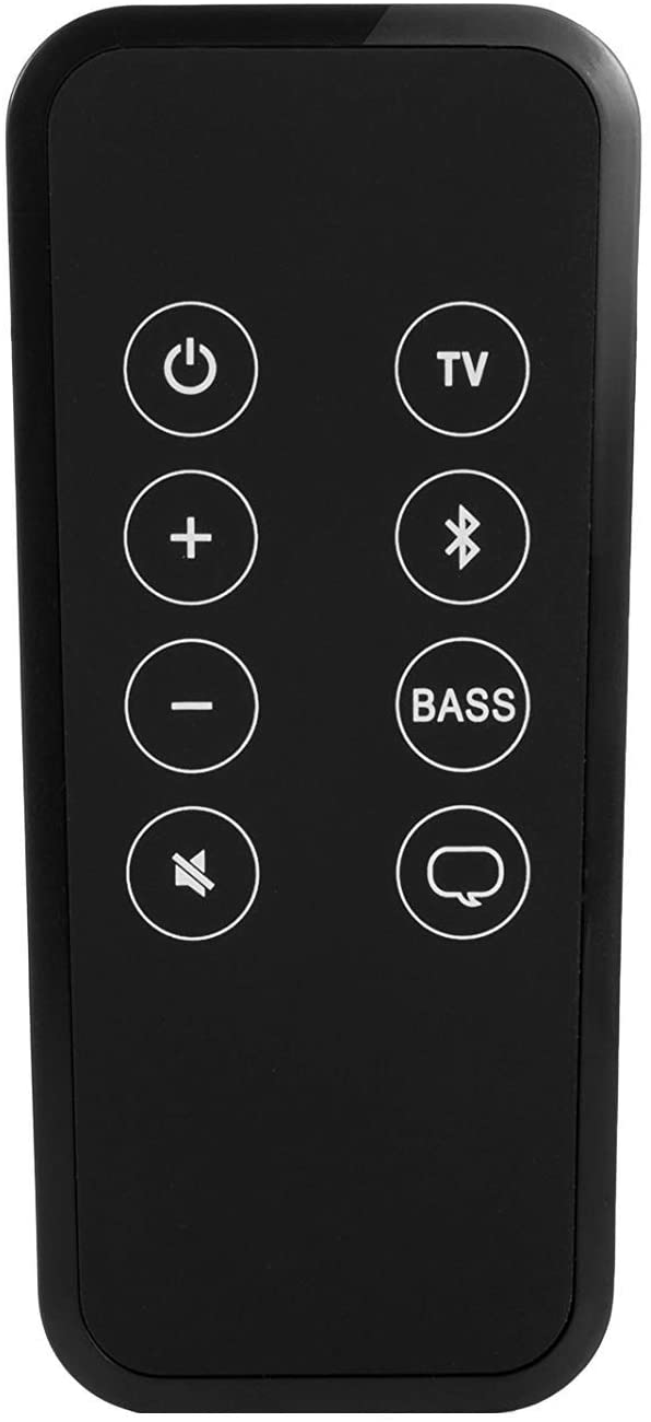 Motiexic Remote Control for Bose Solo 5 10 15 Series ii TV Sound System/ 732522-1110 418775 410376 TV Soundbar Sound System with CR2025 Battery Inside Bluetooth Key Button
