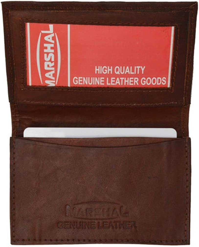 "MW580BK 3"" x 4"" Mens Leather Credit Card Holder"