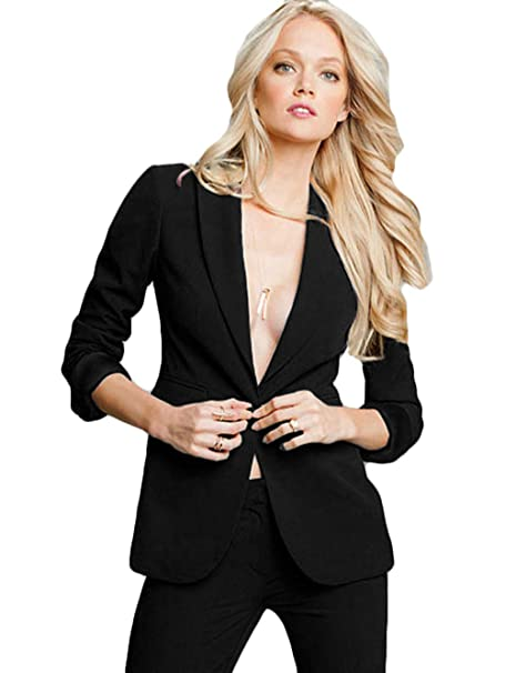 outstanding features big discount of 2019 new items Amazon.com: WZW Women's Professional Formal Pantsuits Ladies ...