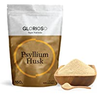 Glorioso Super Nutrients - Psyllium Husk en Polvo Bio 150g - Alto en fibra - Depurativo