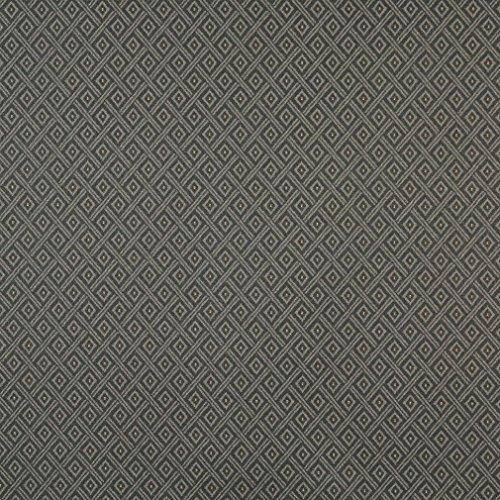 (F735 Grey Diamond Heavy Duty Crypton Commercial Grade Upholstery Fabric by The Yard)