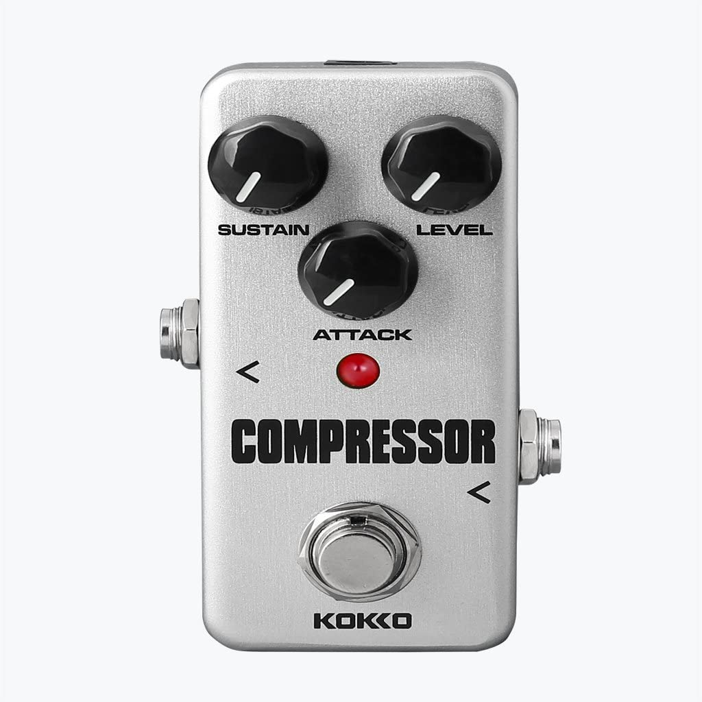 Accesorios Musicales FCP-2 Mini Compresor Efecto con Bypass Real para la Guitarra Eléctrica