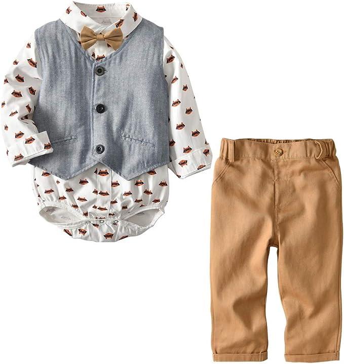 BINGMAX - Mono con Corbata de moño para niños de 1 a 3 años ...