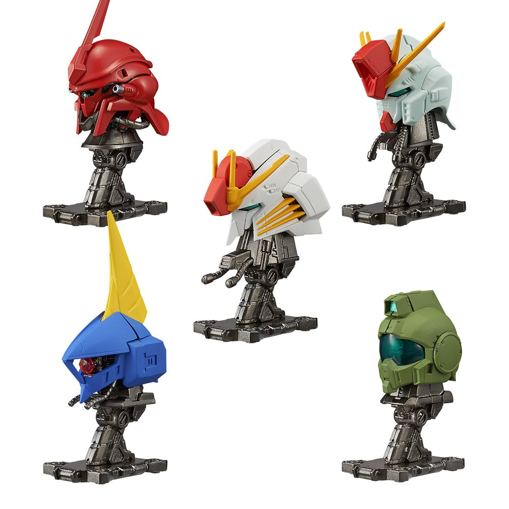 Mobile Suit Gundam Machine Head2 Furukonpu 10 pcs Candy Toys & gum (Mobile Suit Gundam)