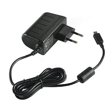 EasyAcc 11UNMIC5P - Cargador de móvil de red (Micro USB 5V 2A) para smartphone, tableta, altavoz, color negro