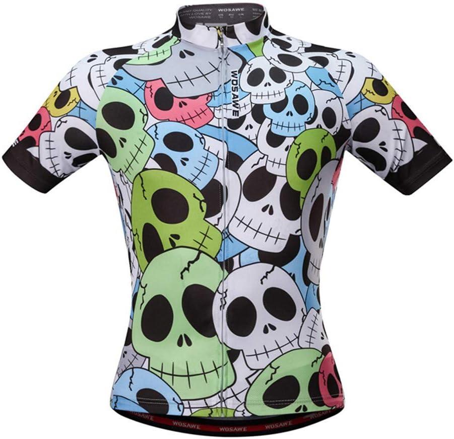 DRFFF Traje de Ciclismo de Carretera Bicicleta de montaña Transpirable Camiseta de Manga Corta Camisa de Manga Corta de Secado rápido Ropa Deportiva de Yoga para el Verano,L: Amazon.es: Hogar
