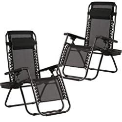 BestMassage Recliner- Set of 2 - With Cup Holder - 4 Colors