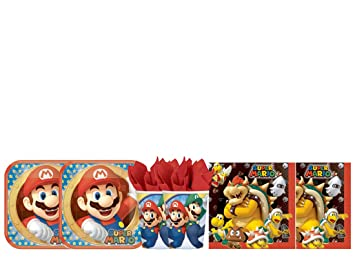 Decorata Party Kit - A Cumpleaños coordinado Super Mario Run ...