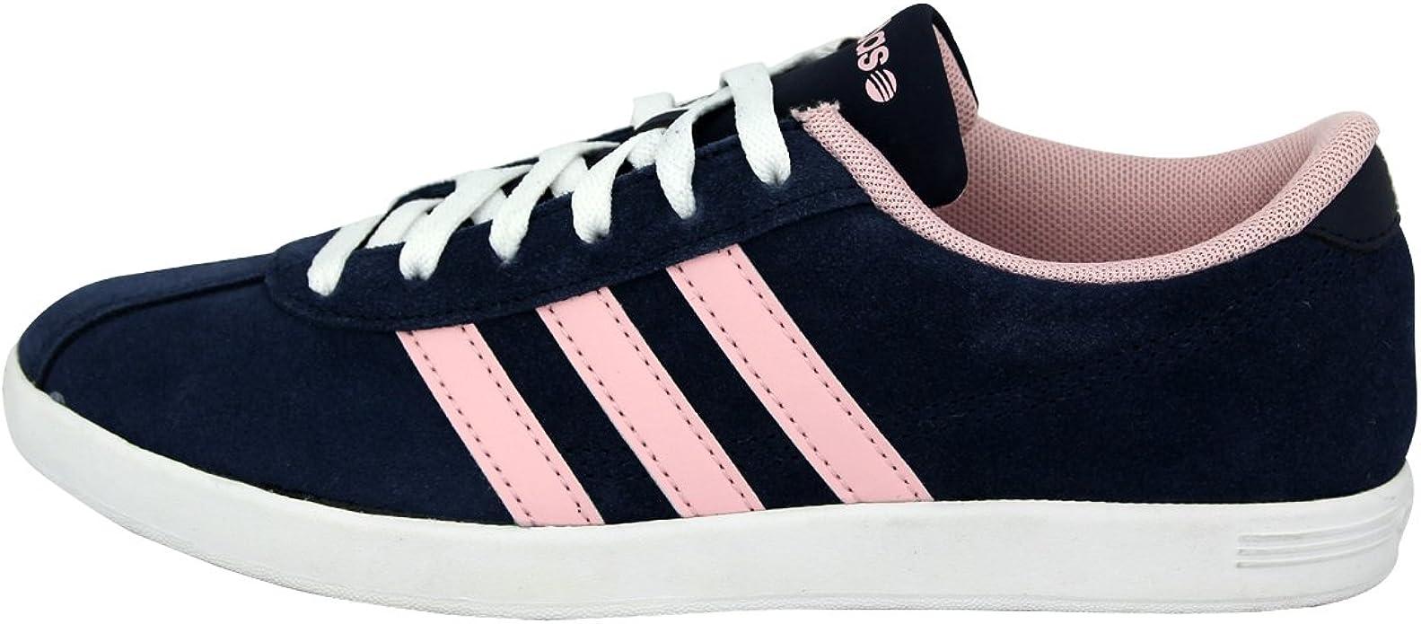 adidas neo bleu marine et rose
