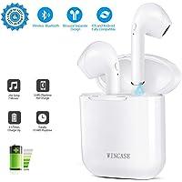 Bluetooth Kopfhörer, Wireless Headset Bluetooth Stereo Hi-Fi Kopfhörer mit Mikrophon, Kabellose Kopfhörer Sport mit Ladekoffer, Noise Cancelling Kopfhörer für Alle Smartphones