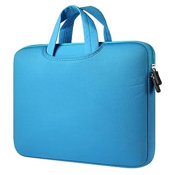 Funda para Portátiles,11-11.6 Pulgadas Maletín con Asa para Ordenador Portátil Notebook - Ultrabook Tablet de Maleta Bolsa de Transporte,Azul: Amazon.es: ...